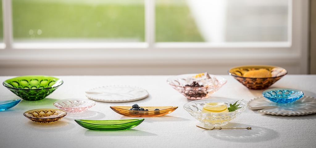 庄内craft|日本製|ガラス食器ブランド ADERIA|アデリア