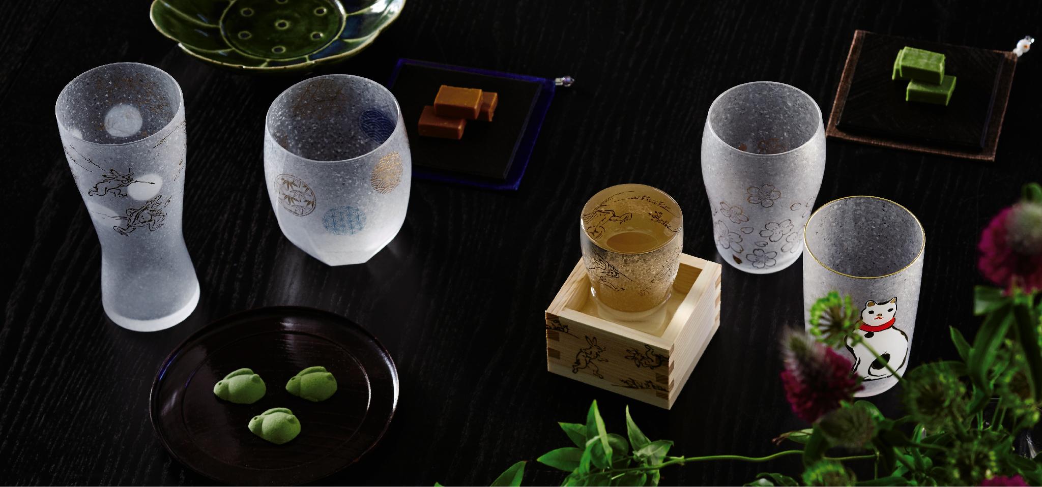 The Premium Nippon Taste|日本製|カラス食器ブランド ADERIA|アデリア