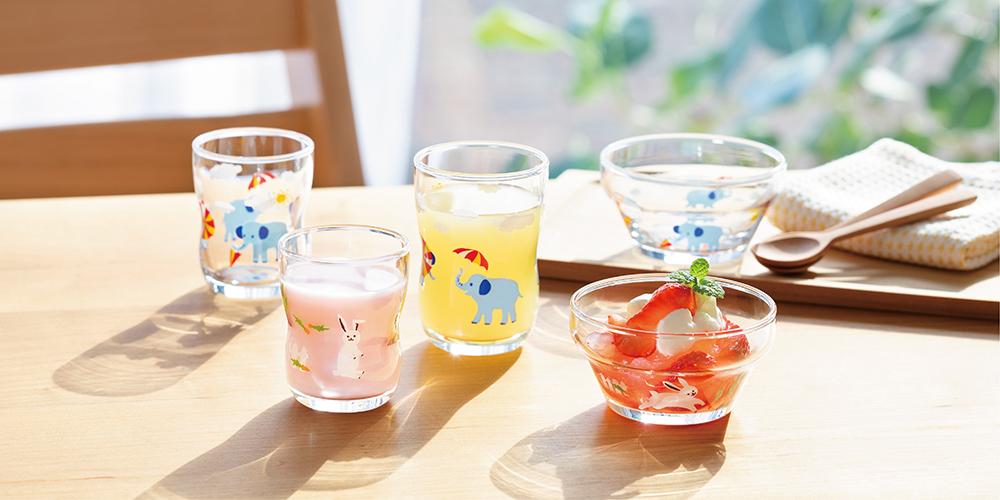 つよいこグラスかくれんぼ|日本製|ガラス食器ブランド ADERIA|アデリア