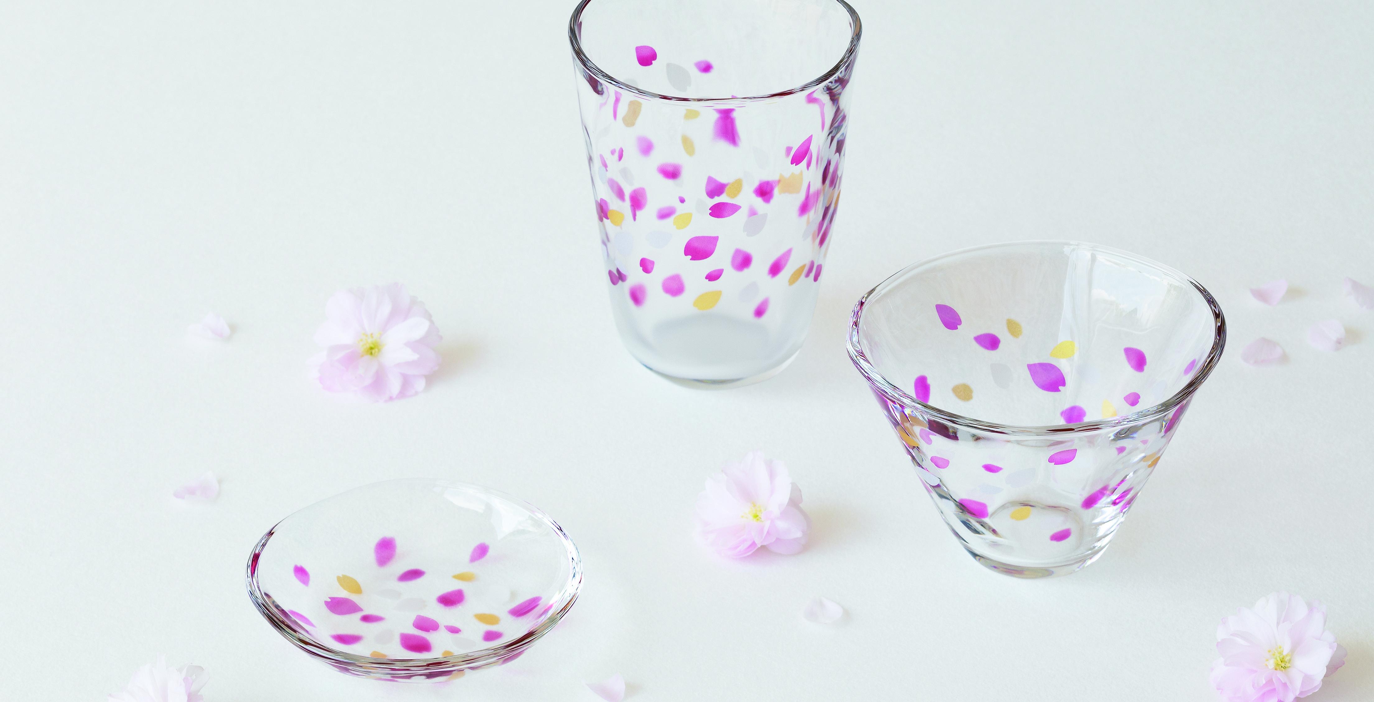 TEBINERI HARUIRO|日本製|ガラス食器ブランド ADERIA|アデリア