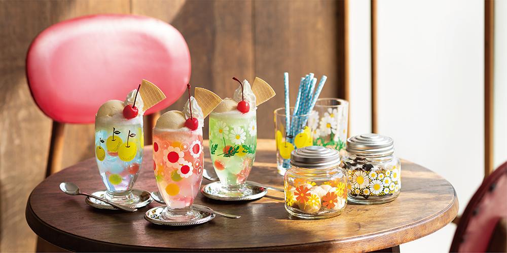 アデリアレトロ|日本製|ガラス食器ブランド ADERIA|アデリア