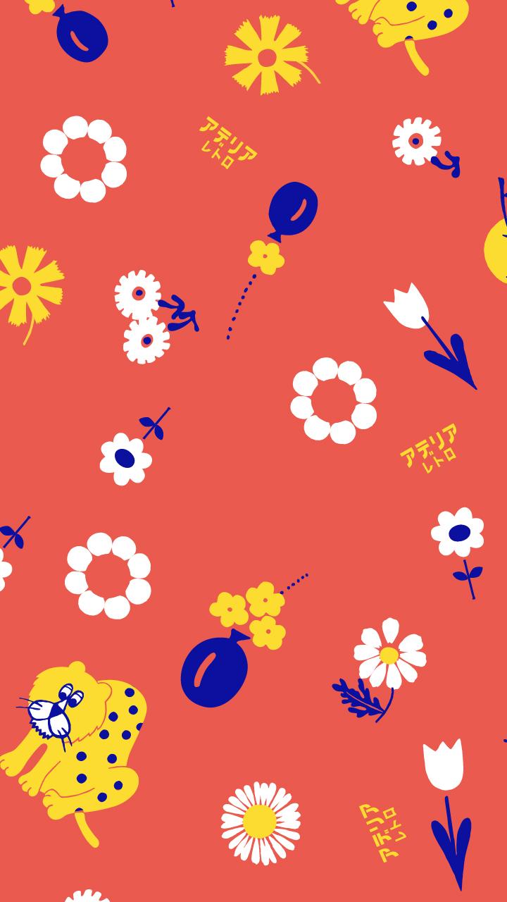 アデリアレトロ壁紙無料 フォロワー10 000人記念キャンペーン ガラス食器ブランド Aderia アデリア