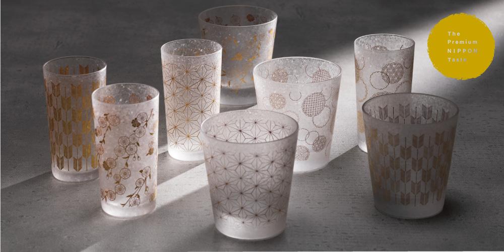 The Premium Nippon Taste 和小紋|日本製|ガラス食器ブランド ADERIA|アデリア
