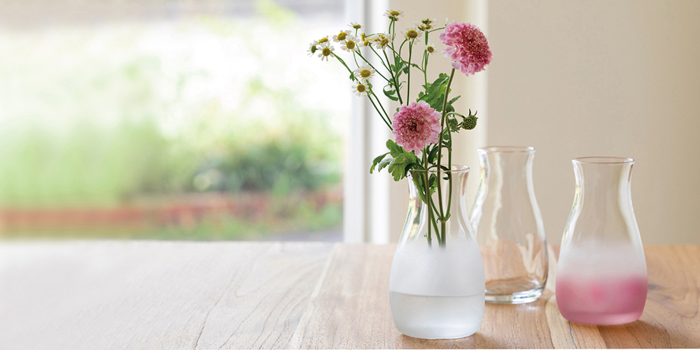 Tebineri ミニ花器|日本製|ガラス食器ブランド ADERIA|アデリア
